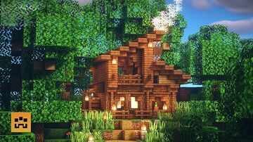 | SOBOO | HOW TO BUILD A WOOD HOUSE Minecraft Map & Project