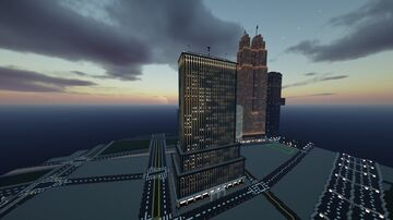One First Street Plaza | New Limesville City | NL | UCS Minecraft Map & Project