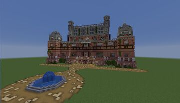 batman mansion and cave Minecraft Map & Project