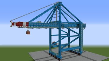 Gantry port crane (STS) Minecraft Map & Project