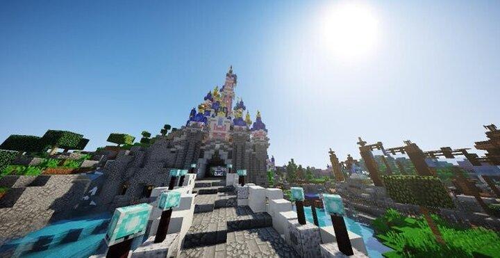 Castle - Disneyland Park