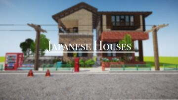 Japanese Houses Minecraft Map & Project