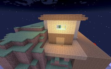 One chunk Piston House [ Redstone heaven ] Minecraft Map & Project