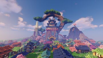 Wano Kuni One Piece Map Minecraft Map & Project