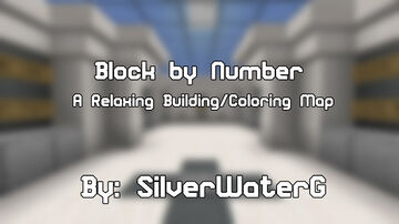 Block by Number [A 1.14.3 Building/Coloring Map] Minecraft Map & Project