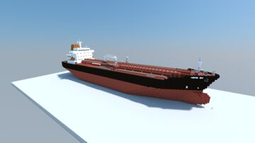 Elandra Oak (1:1 Scale Oil/Chemical Tanker) Minecraft Map & Project