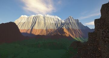 Mountains Minecraft Map & Project