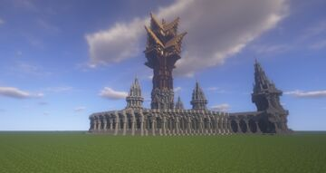 elven mansion Minecraft Map & Project