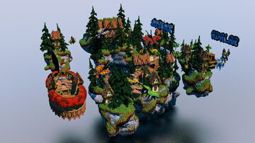 Team Arcenia - SkyBlock Spawn - Royal Island! Minecraft Map & Project