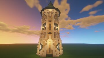 Prisma Tower Minecraft Map & Project