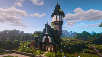 My Cozy Medieval House Minecraft Map & Project