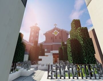 Church of the 13 Angels Minecraft Map & Project