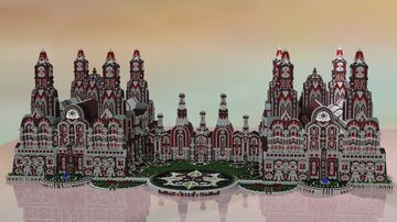 --Fabric Mansion-- Minecraft Map & Project