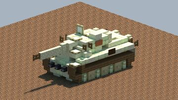 PzKpfw VI, Tiger 1 [With Download] Minecraft Map & Project