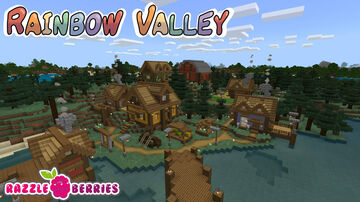 Rainbow Valley Minecraft Map & Project