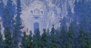 Small Dwarven Entrance Minecraft Map & Project
