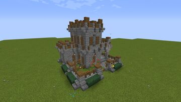 One-Chunk Survival Base Minecraft Map & Project