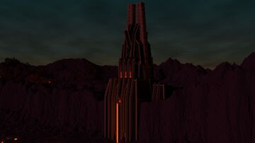 Darth Vader's Fortress Minecraft Map & Project