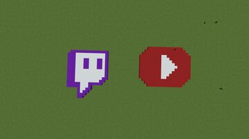twitch, youtube , and netflix Minecraft Map & Project