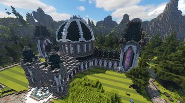 MetaUnion's Hall of Fame Minecraft Map & Project