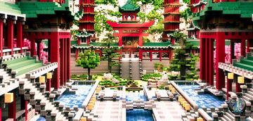 Build - Temple de Fukaku-Ji - By Traktis Minecraft Map & Project