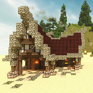 A lost build: 2,050 days ago, 31 July 2014 Minecraft Map & Project