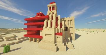 The Burning Desert - Bakery Minecraft Map & Project