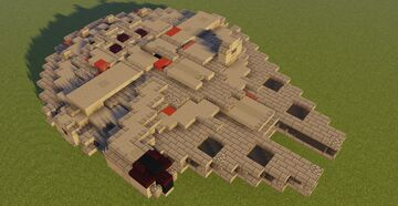 Star Wars YT-1300 Millennium Falcon [Solo's] Minecraft Map & Project