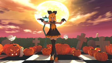 🎃Happy Halloween🎃 - Kagamine Rin Minecraft Map & Project