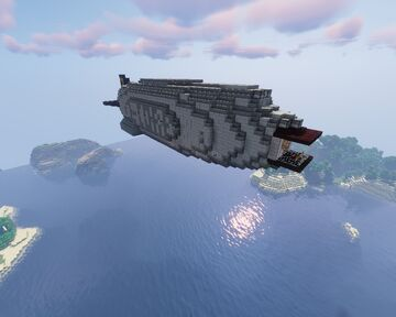 Imperial Navy Destroyer REFIT-2 (L-Corp) for movecraft Minecraft Map & Project