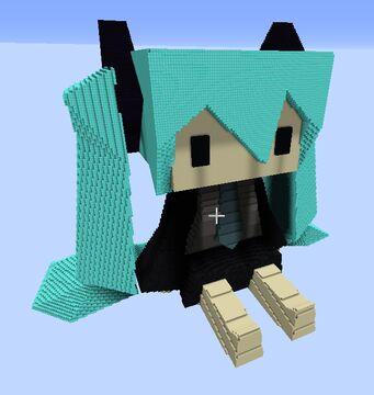 Blocky Miku Minecraft Map & Project