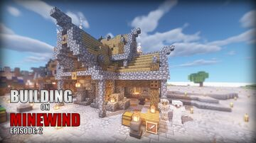 Small Blacksmith Shop Minecraft Map & Project
