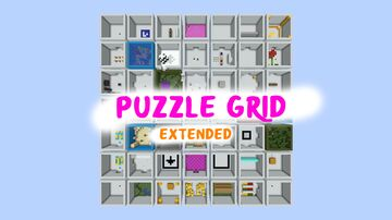 Puzzle Grid Extended Minecraft Map & Project