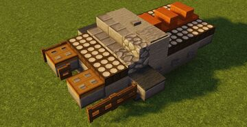 STAR WARS TX-225 GAVw Occupier Combat Assault Tank Minecraft Map & Project