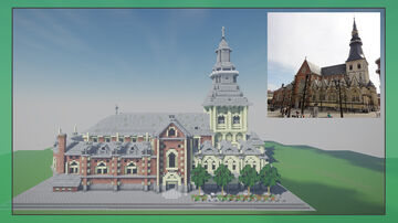 Sint-Quintinuschurch Hasselt Minecraft Map & Project