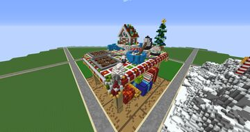 Festive Table with gifts Minecraft Map & Project