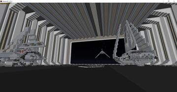 Imperial Hangar Bay - Star Wars Minecraft Map & Project