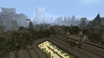 Medieval Kingdom Minecraft Map & Project
