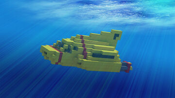 Thunderbird 4 - 2015 TV Redesign Minecraft Map & Project