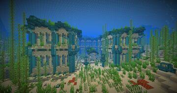 Temple of Conduit [1.16 Celebrational Build] Minecraft Map & Project