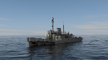 HNLMS Abraham Crijnssen Minecraft Map & Project