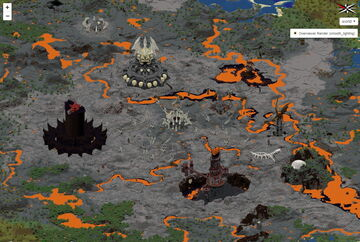 Mordor Minecraft Map & Project