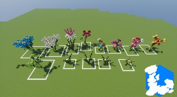 Realm of Lothiredon » Flower pack! [DOWNLOAD] Minecraft Map & Project