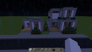 Town with a school Minecraft Map & Project