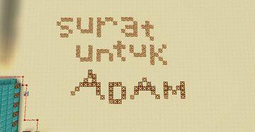 Surat Untuk Adam (still in-development) Minecraft Map & Project