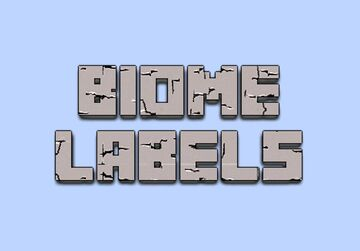 Biome Labels Minecraft Map & Project