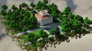 The White Pavilion Minecraft Map & Project