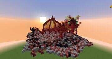 Small Fire dragon (Salamander) Minecraft Map & Project