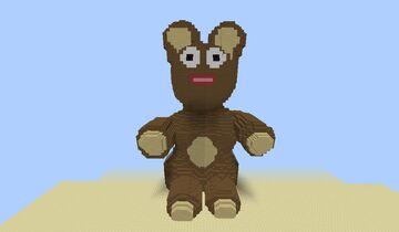 Big Bear 3D art Minecraft Map & Project