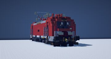 Siemens Vectron MS // 1.5:1 Scale Minecraft Map & Project